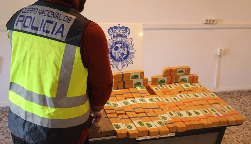 Detenidos en Imárcoain con 30 kilos de heroína en su coche