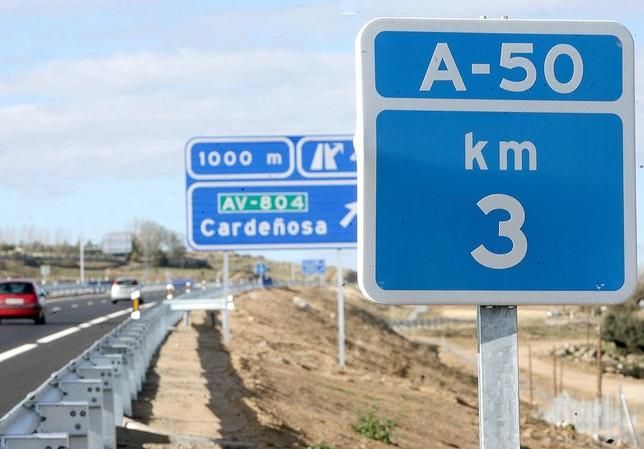 El Gobierno aprueba 26 millones para la red viaria de Ávila Antonio Bartolomé