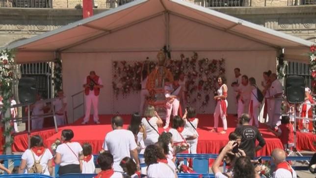 Navarra Televisión, con la emoción de los más pequeños