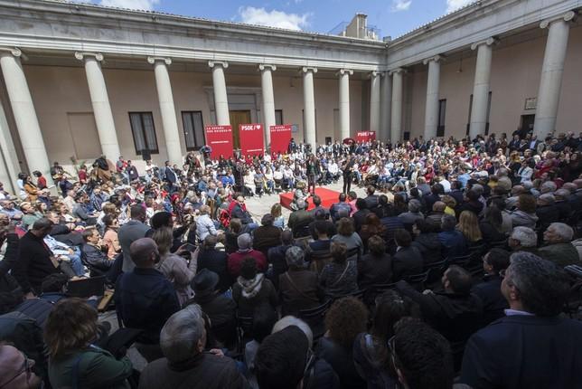 Sánchez pide que los indecisos voten al PSOE VÁctor Ballesteros