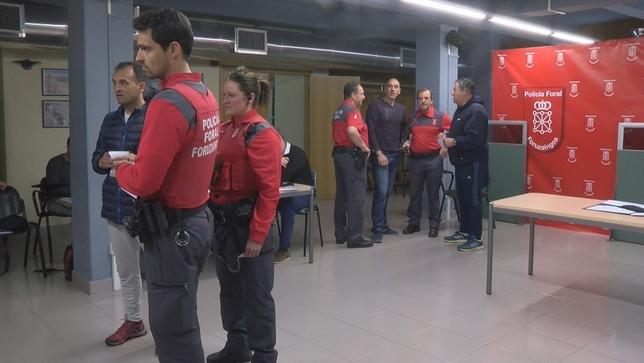 Policía Foral elige a sus 23 representantes sindicales
