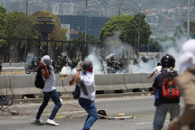 Vuelve la tensión en Caracas entre chavistas y opositores Rayner Peña