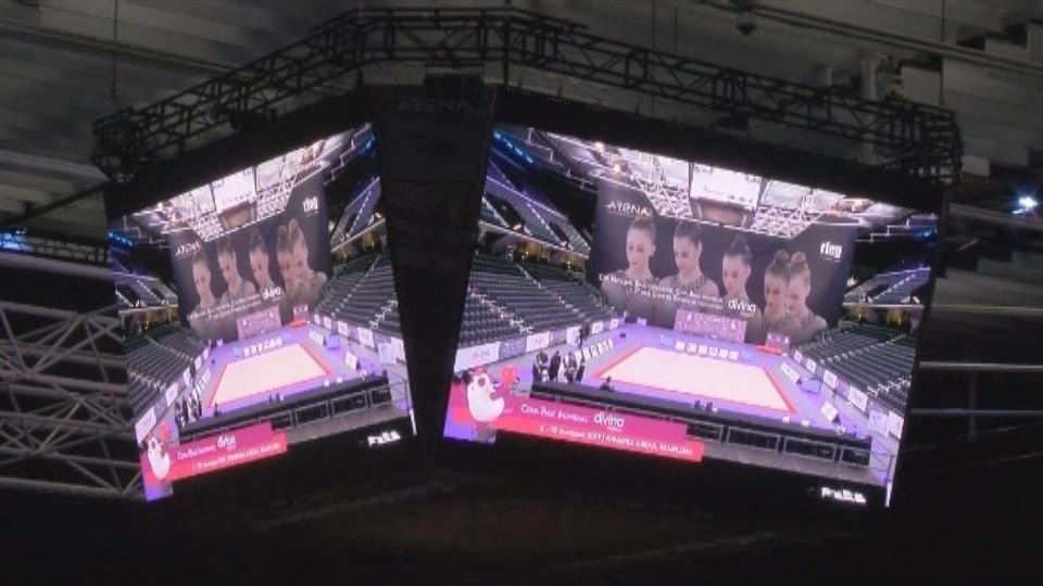 El videomarcador permitirá a los asistentes no perder detalle de la competición
