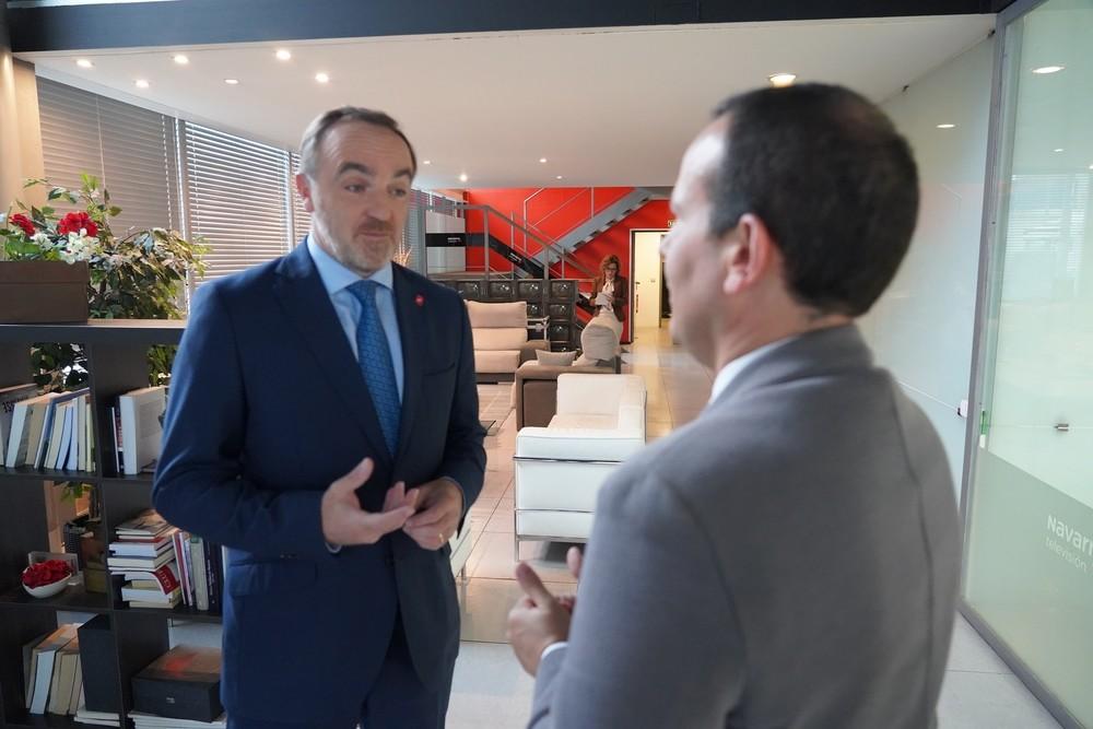 Javier Esparza en Cara a Cara