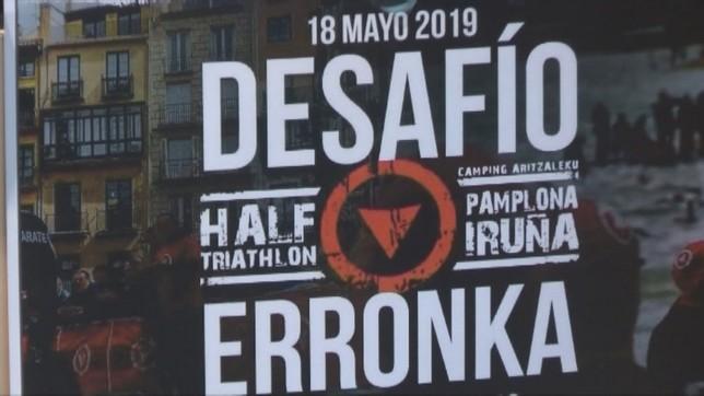 Este sábado se celebra la quinta edición de la Half Triathlon Pamplona NATV