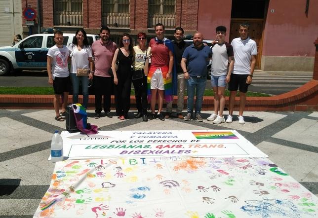 Talavera celebra el Orgullo @LGTBoraTalavera