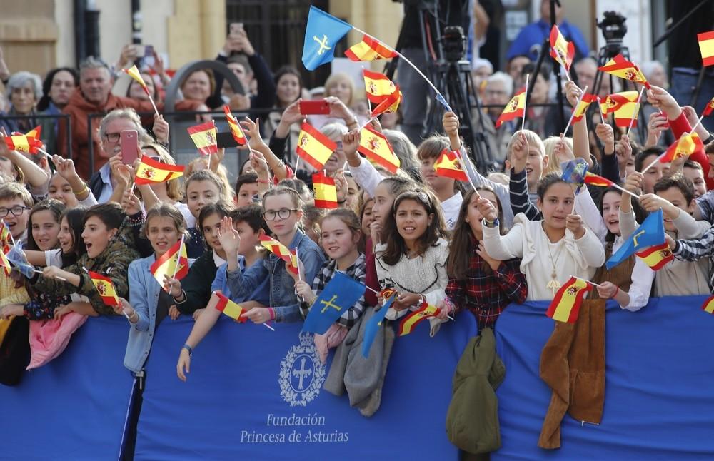 Asturias se rinde a su Princesa