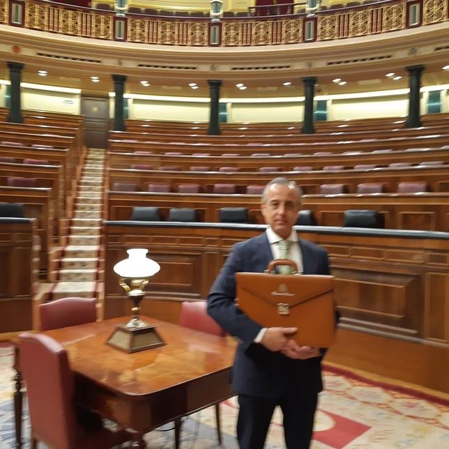 Estreno de los nuevos parlamentarios por Valladolid