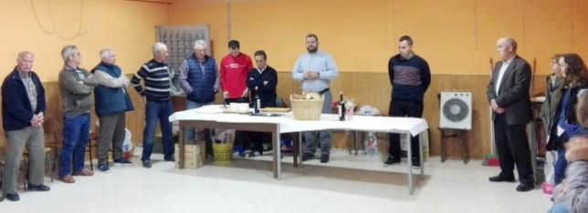Chamartín: Bendición del pan y el queso en el salón del Ayuntamiento V.GARCÍA