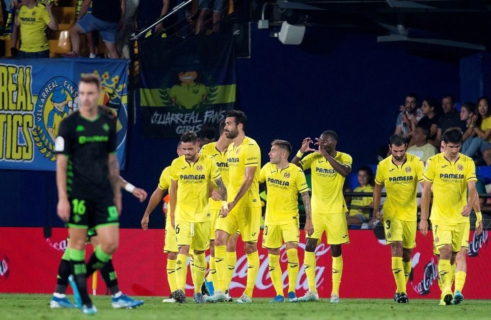 El Villarreal 'bombardea' al Betis