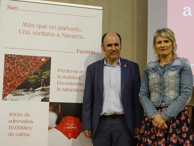 Navarra promociona su valor como destino referente de verano Twitter
