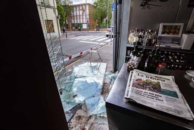 Roban por segunda vez en tres días en otro bar de Pío XII Rueda Villaverde