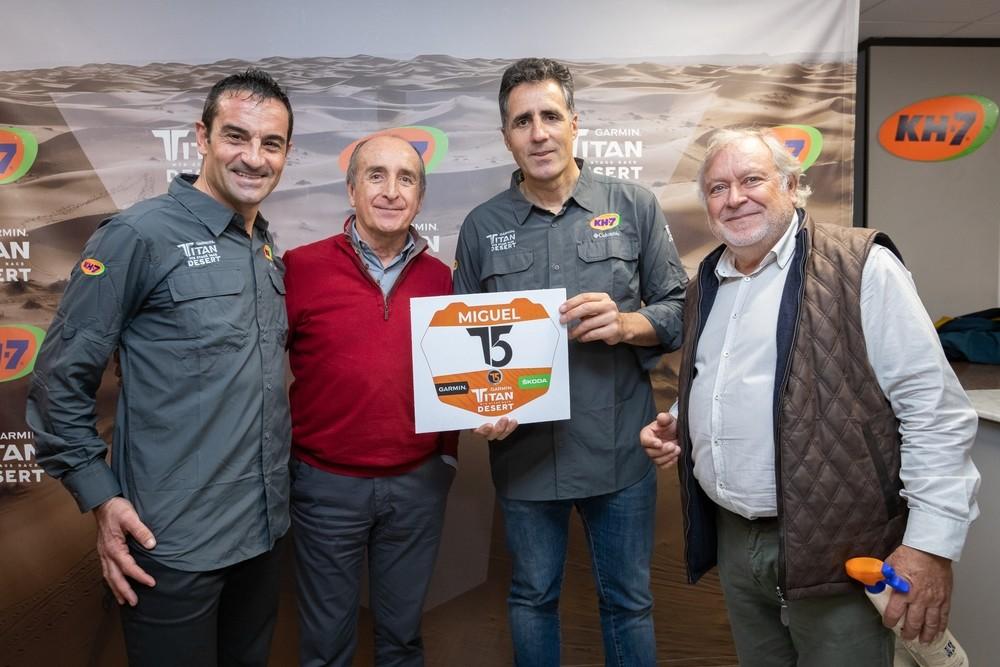 Induráin participará en la Titan Desert 2020