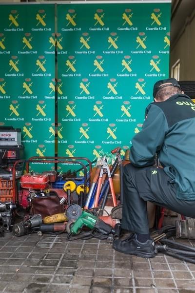 Desarticulada una banda especializada en el robo de gasóleo