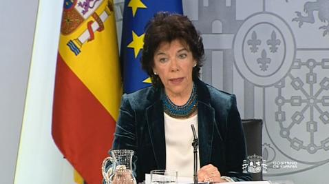 """Celáa cree que Chivite sería una """"excelente presidenta"""""""