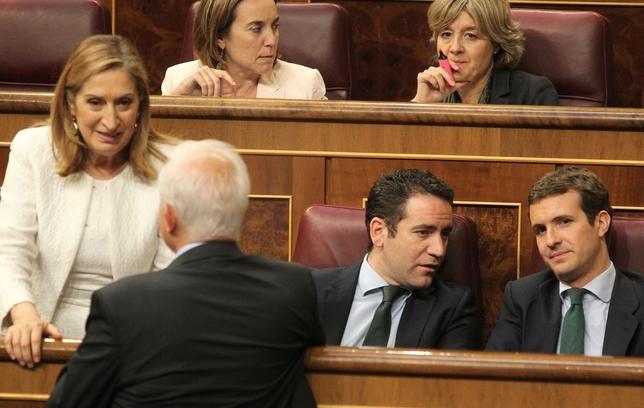 Estreno de los nuevos parlamentarios por Valladolid JUAN LAZARO