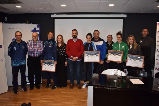 Imagen de la recepción municipal que se brindó a los equipos participantes en la Torre del Vino.