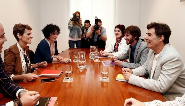 Podemos, optimista con la formación de Gobierno progresista ARCHIVO