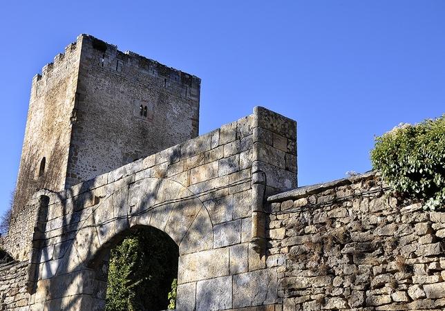 La torre de Cidad de Valdeporres muestra cierto porte, pero carece de techumbre y de cualquier estructura interior. Sergio Pérez