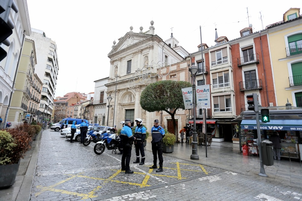 Puente destaca el privilegio de Valladolid por su Policía