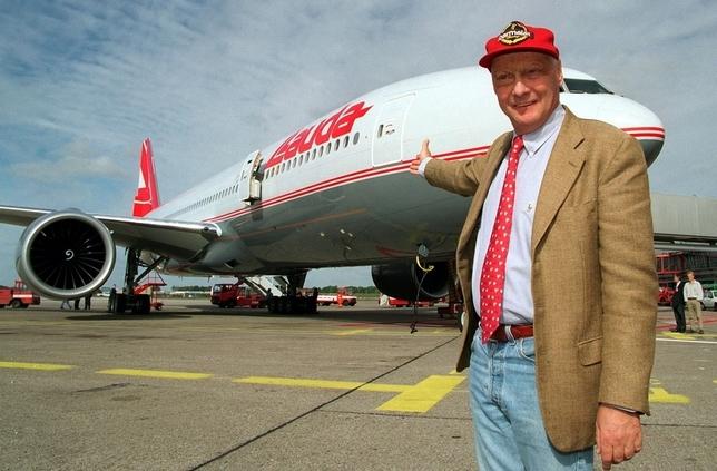 Niki Lauda triple campeón del mundo