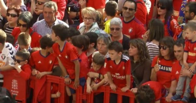[DIRECTO] Osasuna celebra su ascenso a Primera División