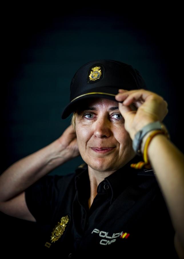 40 aniversario del ingreso de la mujer en la Policia Nacional J.T.