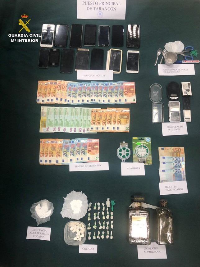 La Guardia Civil desarticula un grupo criminal en Tarancón