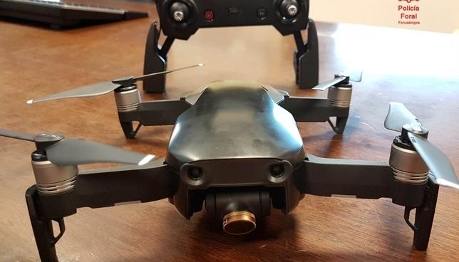 Interceptados tres drones que volaron ilegalmente en fiestas