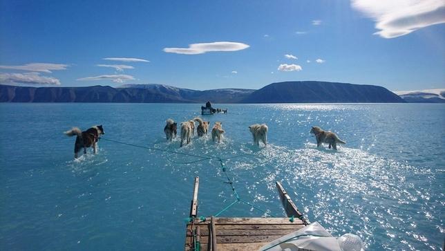 El nivel del mar de Groenlandia subirá un 80% en 200 años