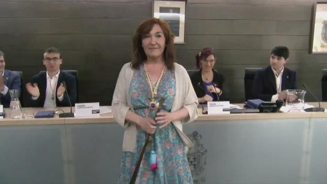 Ana Góngora, de Navarra Suma, alcaldesa de Burlada NATV