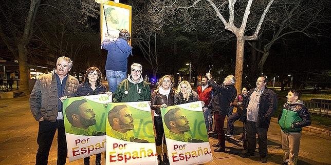 """Pistoletazo de salida a la campaña electoral en la capital Á""""scar Navarro"""