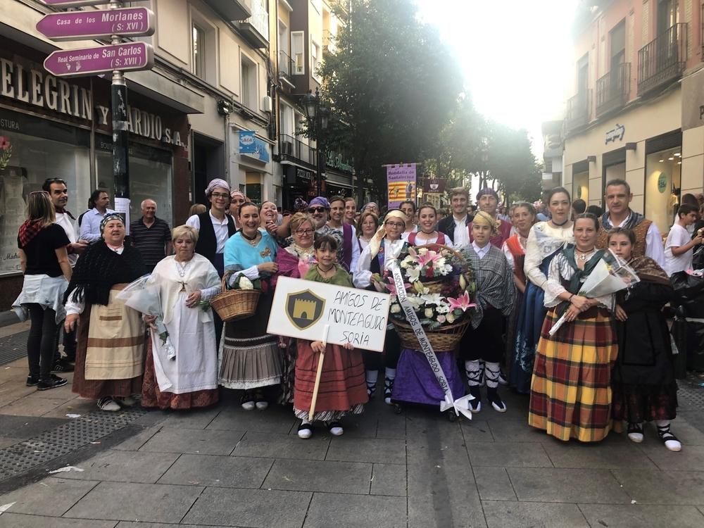 Monteagudo de las Vicarías también honra a la 'Pilarica'