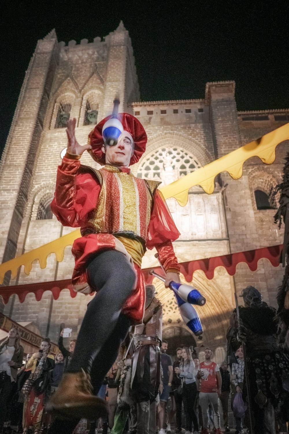 Un bailarín en el Grande, imagen del próximo Medieval
