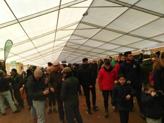 Gran ambiente en el Campeonato de Galgos de Nava