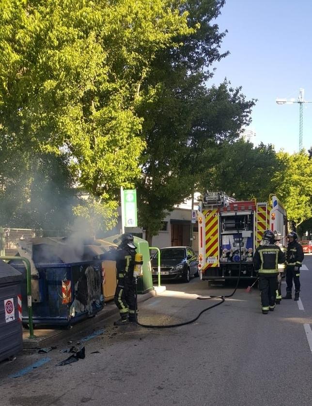 Vuelven a detener al Moradillo por quemar contenedores