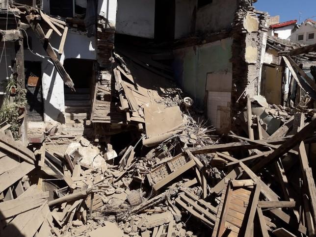 Se derrumba una vivienda habitada sin lamentar víctimas