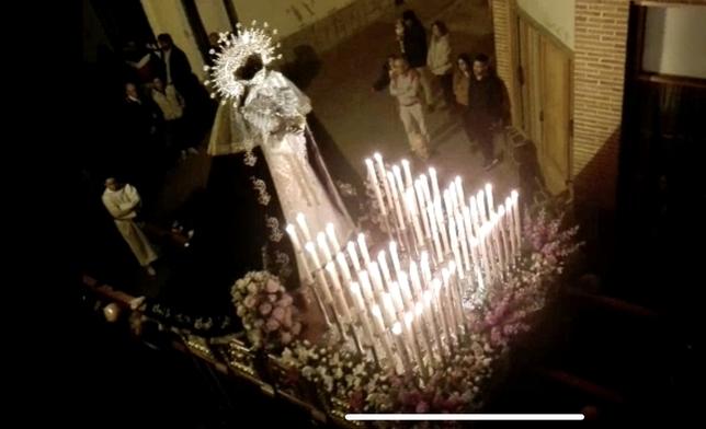 La Virgen de los Dolores estrena trono en Torrijos