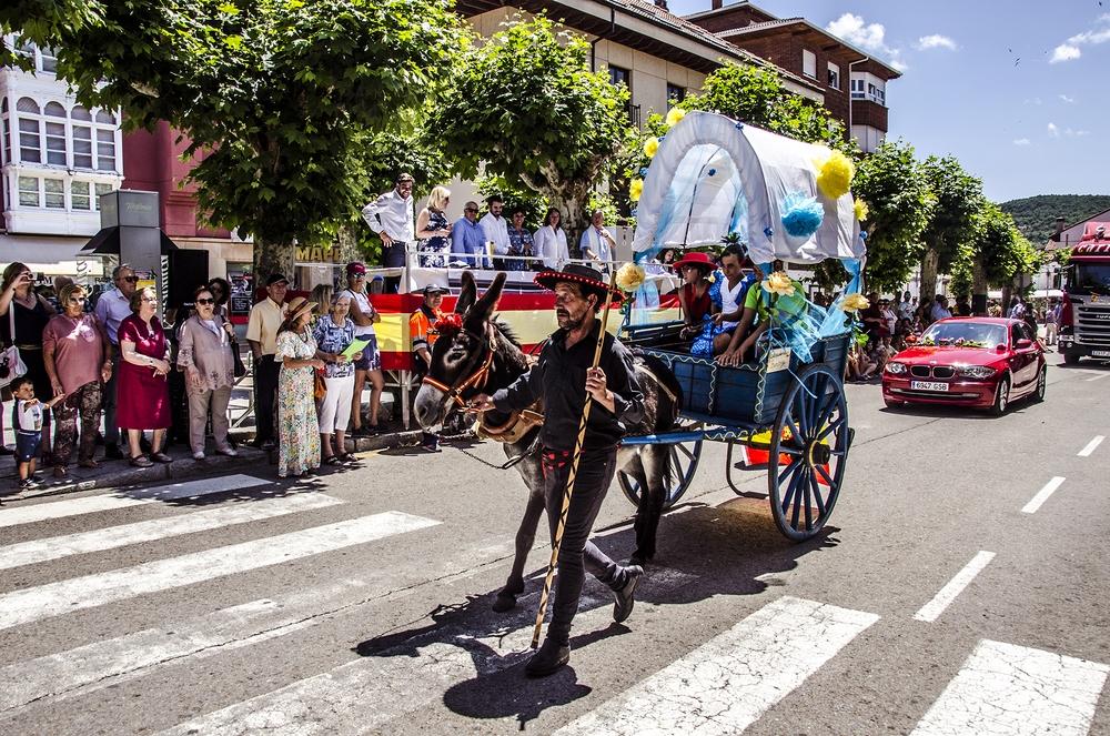 Desfile de Carrozas y Coches Engalanados en Cervera