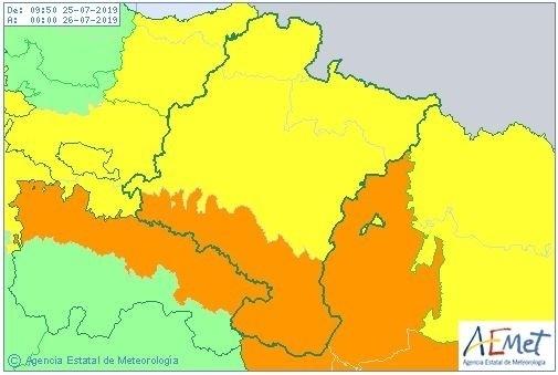 La ola de calor da hoy sus últimos coletazos en Navarra