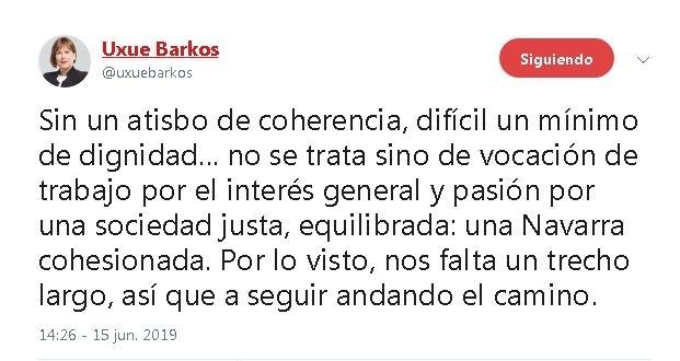 Geroa Bai acusa al PSN de adelantar el 'agostazo' en Navarra