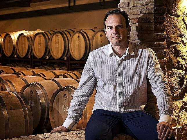 Galo López continúa la dedicación familiar a los vinos de esta tierra.