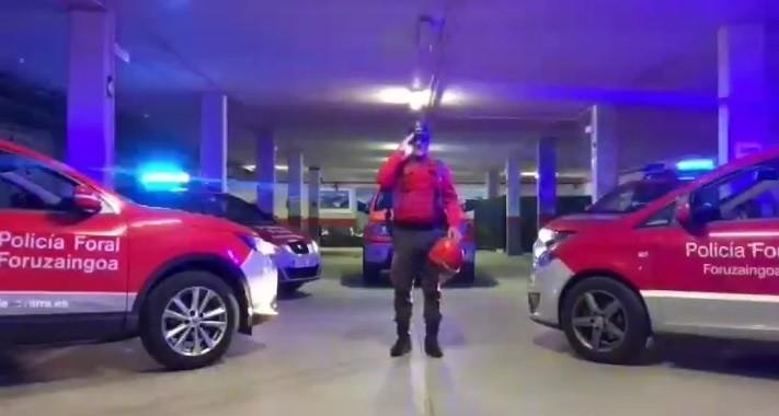 Policía Foral de Elizondo felicita la Navidad