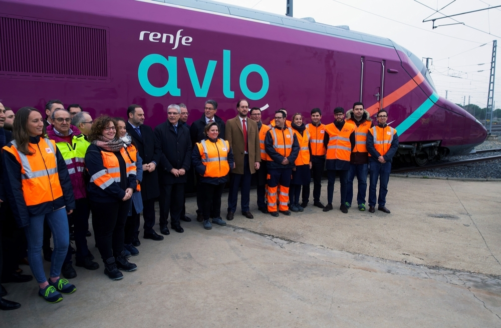 El AVE 'low cost' AVLO arrancará el 6 de abril