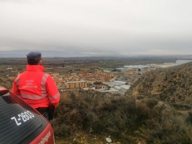 Una nube tóxica ronda Navarra procedente de Pradejón