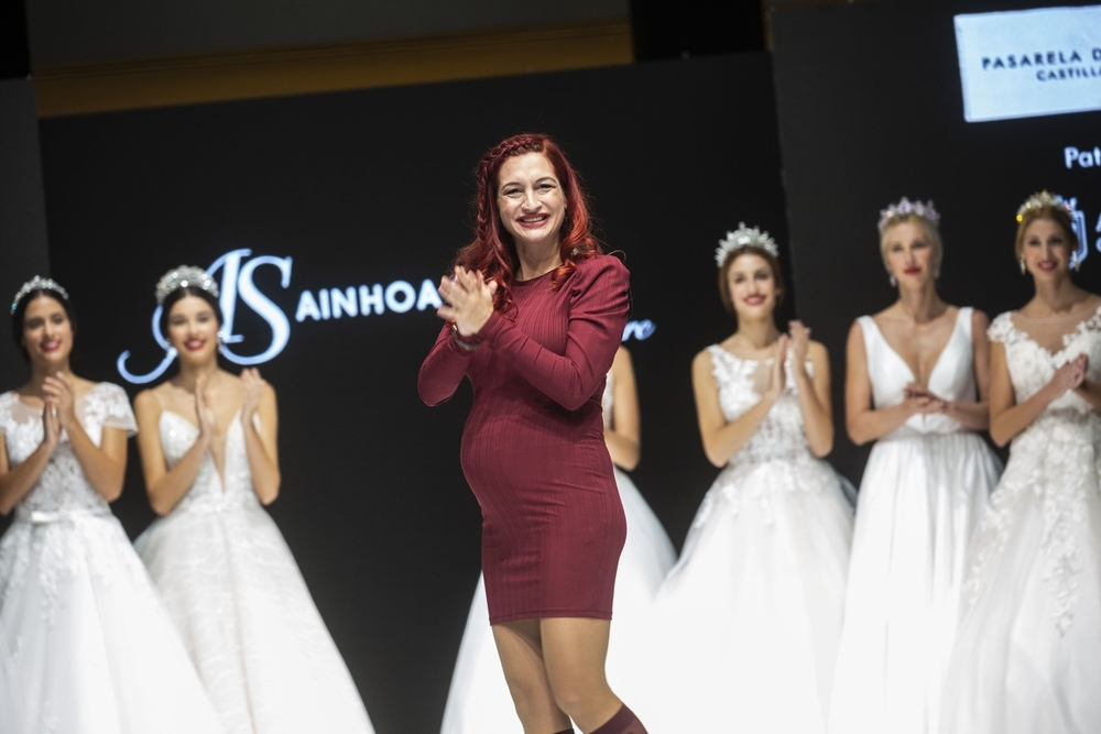 La diseñadora vallisoletana  Ainhoa Salcedo.