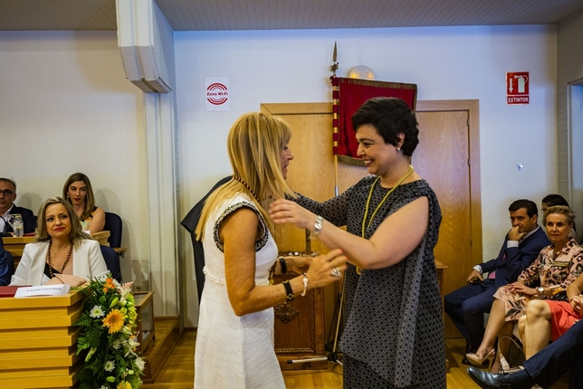 Zamora, alcaldesa con los votos de PSOE y Cs Rueda Villaverde