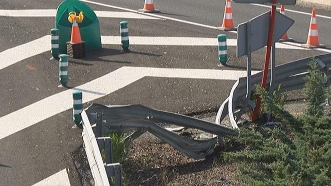 Fallece un motorista pamplonés tras accidentarse en Noáin