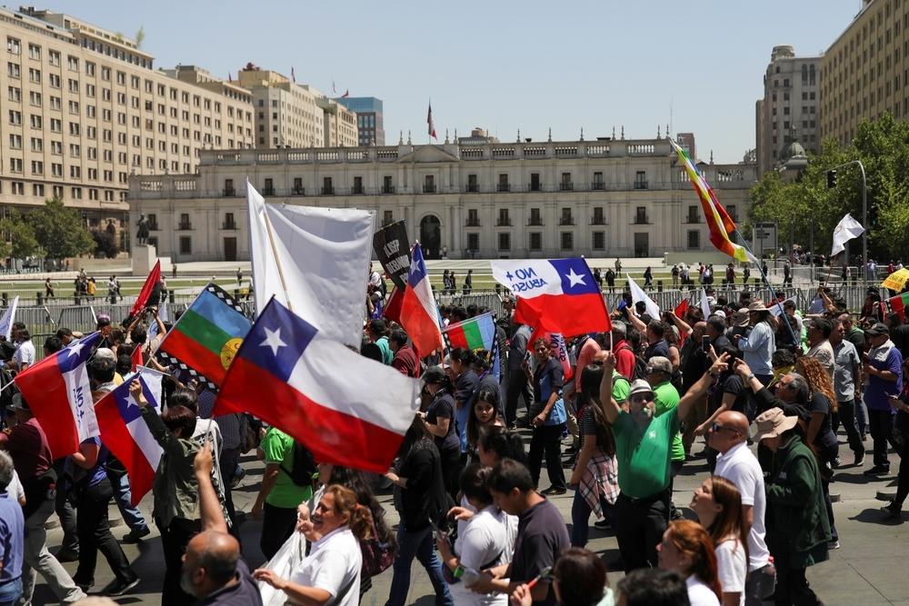 Las barricadas y los cortes en las carreteras vuelven a Chile