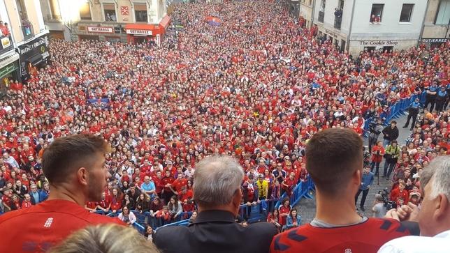 [DIRECTO] Osasuna celebra su ascenso a Primera División NATV-Fermín Laspeñas